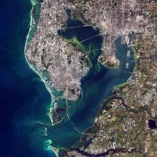 Satellite Map Of Florida by Tampa Bay Florida Image Of The Day