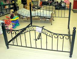 bed frames metal bed frame full wrought iron bed frame king