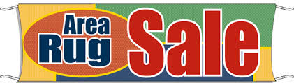 Area Rug On Sale Outdoor Banner Area Rug Sale Signs4retail