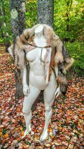 Barbarian Halloween Costume Coyote Pelt Fur Cloak Barbarian Costume Cape Mantle Game