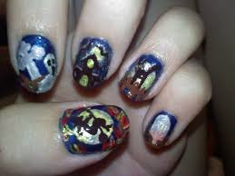 lily in lace nail art refreshing