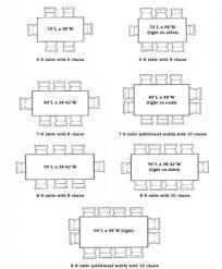 average length of dining room table average size dining room createfullcircle com