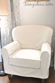 Slipcovers From Drop Cloths My Perfectly Imperfect Slipcovers Teeny Ideas