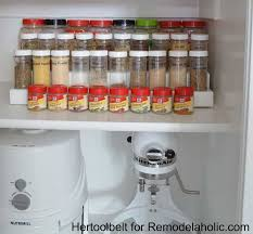 11 diy spice rack ideas for a whimiscal kitchen full home living