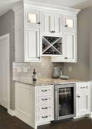 custom beverage center with u201cx u201d wine rack and small refrigerator
