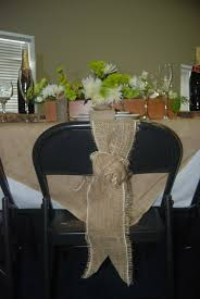 diy chair sashes accessories burlap chair covers with regard to trendy burlap