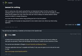 discord overlay not so fast bungie automatically bans destiny 2 pc players with