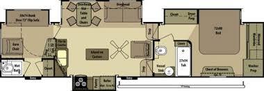 Open Range 5th Wheel Floor Plans 2014 Open Range Open Range 413rll Fifth Wheel Rv For Sale Rv