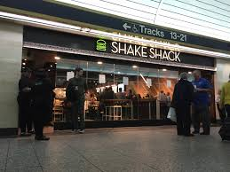 Shack by Shake Shack Now Open In New York U0027s Penn Station Thestreet