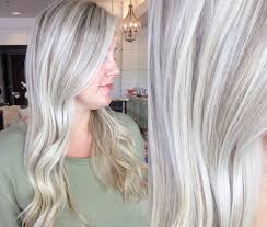 high lighted hair with gray roots what to ask your stylist for to get the color you want blonde