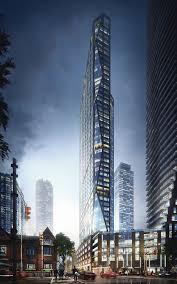 architectural visualization of skyscraper project in toronto