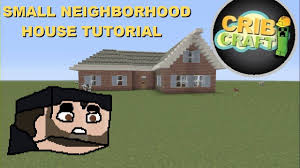 minecraft house tutorial how to build a small brick house
