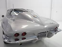corvette stingray split window 1963 chevrolet corvette sting split window coupe daniel