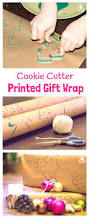 cookie cutter printed gift wrap cookie cutters wraps and craft