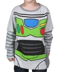 Buzz Light Year Halloween Costume Toy Story Shirts