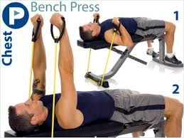 Bench Press Chest Workout Resistance Band Exercises Put Tubing To Work For You