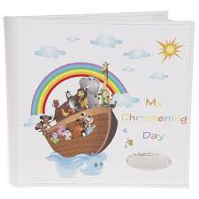 christening photo album noahs ark my christening day album christening gifts and frames