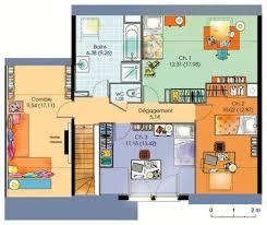 plan de maison avec cuisine ouverte maison contemporaine à étage avec cuisine ouverte et suite parentale