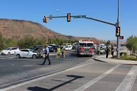 lexus drivers personality one driver taken to hospital after 2 car crash u2013 cedar city news