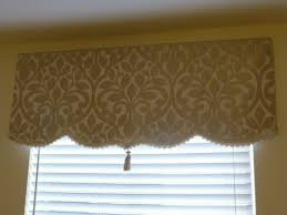 no sew simple dyi soft cornice valance with trim and tassel