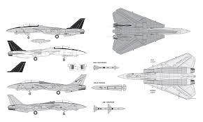Blueprints Free by Grumman F 14 Tomcat Blueprint Download Free Blueprint For 3d
