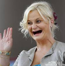 Teeth Meme - amy poehler in actress without teeth meme