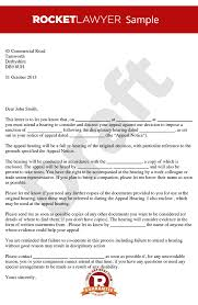 performance appeal hearing letter notice of poor performance appeal