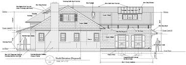 side elevation north side elevation proposed dcl architects