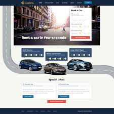 advertising template free rent a car website template free car rental templates phpjabbers category car rental templates