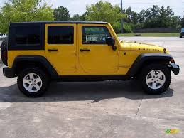 yellow jeep wrangler unlimited 2008 detonator yellow jeep wrangler unlimited rubicon 4x4