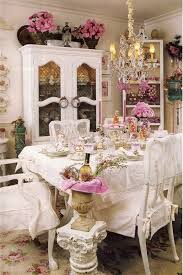 Beautiful Shabby Chic Dining Room Decoration Ideas Listing More - Shabby chic dining room set