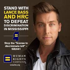 Anti Gay Meme - lance bass joins hrc in speaking out against anti gay mississippi