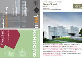 visual artists u0027 news sheet 2009 september october by
