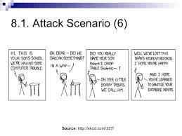 Bobby Tables Xkcd 8 Sql Injection