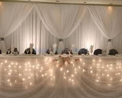 wedding backdrop lighting kit fairy light table decoration kit 16 foot 8 person edd ht