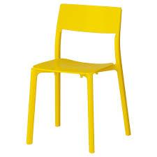 chaises jaunes janinge chaise ikea
