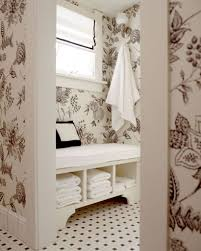 floral wallpaper for classic victorian bathroom ideas for small