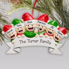 personalized family truck ornament giftsforyounow