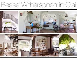 spread of the week reese witherspoon mountain home decor