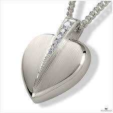 ashes locket remembrance store heart with pendant locket for ashes