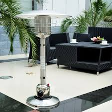 Garden Sun Table Top Patio Heater by Outdoor Stainless Steel Table Top Gas Heater Aosom Co Uk