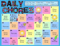 25 preschool chore charts ideas preschool