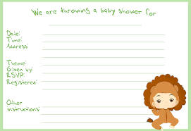 jungle theme baby shower invitations for free are just a few