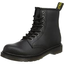 youth motorcycle boots dr martens delaney y black pebble leather youth uk 5 ankle boots