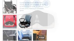 Back Pain Chair Cushion Cushina Memory Foam Seat Cushion For Back Pain Relief Youtube