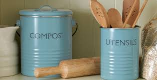typhoon vintage kitchen blue blue kitchen storage canisters