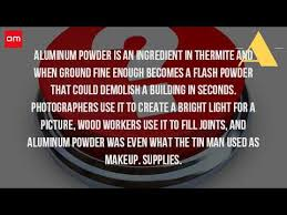 what is the use of aluminum powder youtube