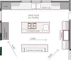 Kitchen Floorplan Terrific Kitchen Floor Plans With Islands 90 For Home Decoration