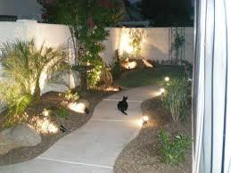Arizona Landscape Ideas by Arizona Tropical Landscape Design With Sod Palm Trees Plants