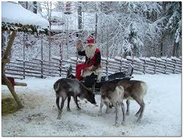 santa reindeer wallpapers